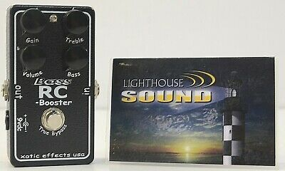 Xotic Bass RC Booster Bass Effects Pedal - FULLY TESTED