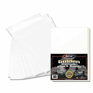 Premade Comic Book Protection Bags and Boards