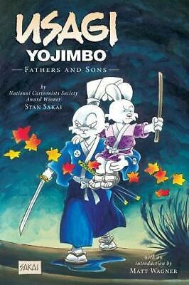 Usagi Yojimbo Volume 19: Fathers And Sons, Very Good Condition Book, Dark Horse,