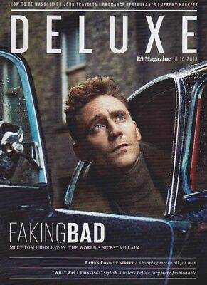Tom Hiddleston Rare Onee day only issue of the ES Deluxe Magazine