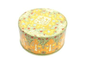Vintage Coty Airspun Powder Box Rare Orange Green Gold 20s 30s  Empty Emeraude