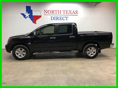 2004 Nissan Titan LE 4WD Heated Leather Bed Liner Step Rails Aux Cor 2004 LE 4WD Heated Leather Bed Liner Step Rails Aux Cor Used 5.6L V8 32V