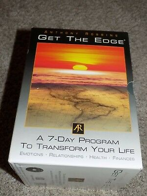 Anthony Robbins Get The Edge A 7-Day Program to Transform Your Life 10 Discs