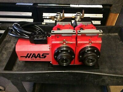 HAAS 5C 7 Pin Rotary Indexer With Manual Closer Tested Good