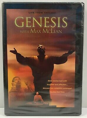 Genesis - Bible Stories: Eden-Babel,Noah's Ark,Abraham Isaac with Max McLean DVD