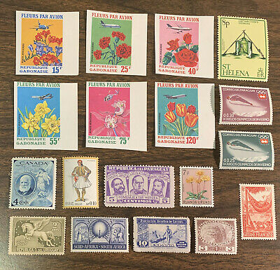 [Lot 439] 50 Different Mint/MH/MNH/MNG Worldwide Stamp Collection