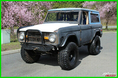 1972 Ford Bronco 5.0L Fuel Injected, O/D Automatic, ARB Lockers, Hydro Winch 1972 Ford Bronco