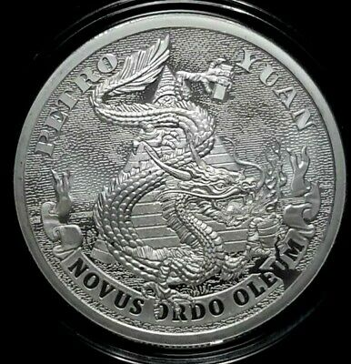 2019 Silver Shield PETRO YUAN 1 oz Silver BU & FREE CAPSULE & COA! SHIPPING NOW!