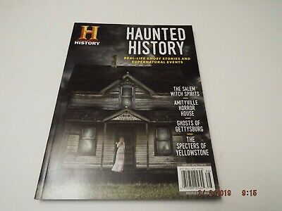 HAUNTED HISTORY Magazine REAL-LIFE GHOST STORIES Salem Witch Spirits 2018