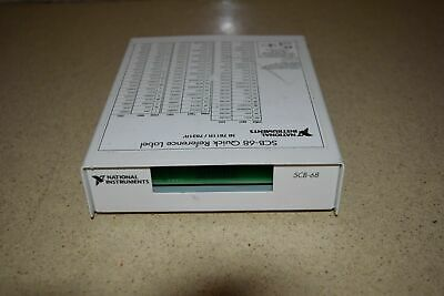 National Instruments Scb-68 I/O Connector Block (D6)