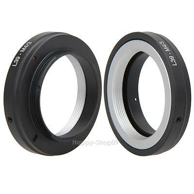 L39 M39 Lens to Micro 4/3 Four Thirds M4/3 Mount Adapter Ring for Leica GH1 GF1