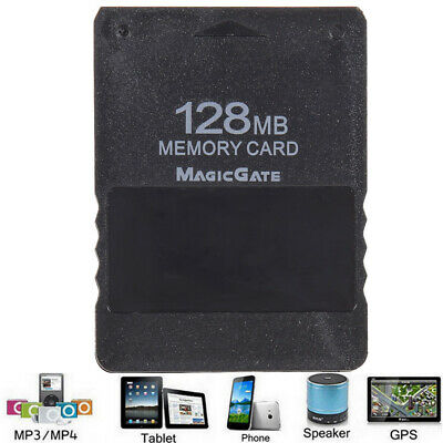 128MB 128M Memory Card Micro Save Game Data Module for Sony Playstation 2 PS2