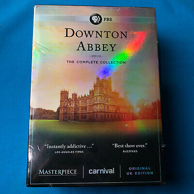 New DOWNTON ABBEY the Complete Series Collection on DVD 1-6 Season 1 2 3 4 5 6