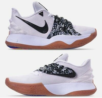 12799dd40f1a NIKE KYRIE LOW MEN s BASKETBALL WHITE - BLACK - GUM AUTHENTIC NEW IN BOX  SIZE