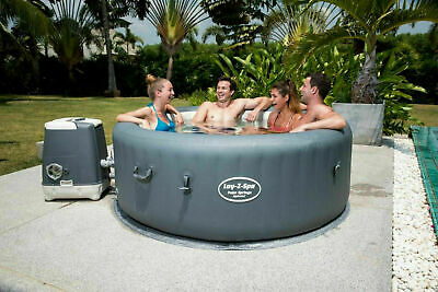 Bestway Lay-Z-Spa Palm Springs Hydrojet Inflatable Hot Tub Jacuzzi Spa[