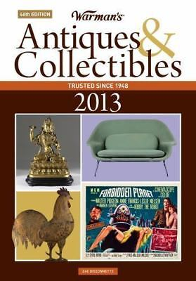 Warman's Antiques Collectibles 2013 Price Guide Bissonnette 46th Ed Paperback