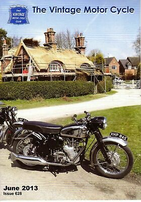 The Vintage Motor Cycle Club Magazine June  2013 Issue 628 13386