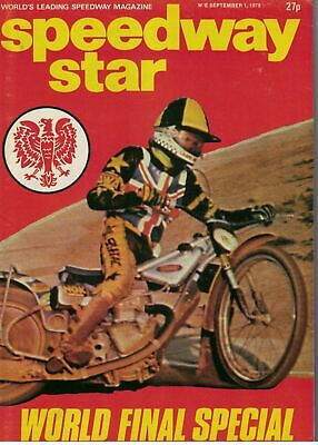 Speedway Star Magazine 1 September 1979 World Final Special 5667F