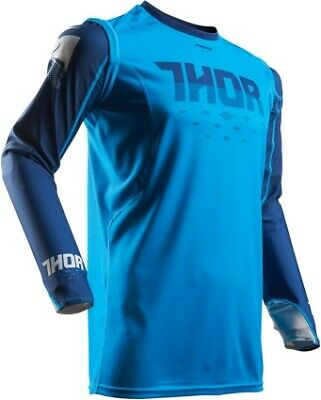 Thor Prime Fit Rohl Mens MX/Offroad Jersey Blue/Navy