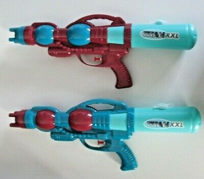 2 x Water Gun titan XXL Super Soaker Toy Blaster Squirt Kids Pistol,uk seller