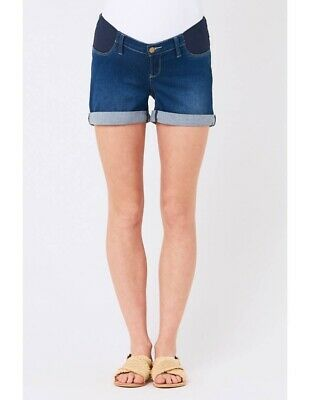 Ripe Maternity Isla Denim Shorts SzS