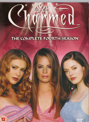 Charmed - The Complete Fourth Season - 6-Disc DVD - Region 2 - Paramount - VGC