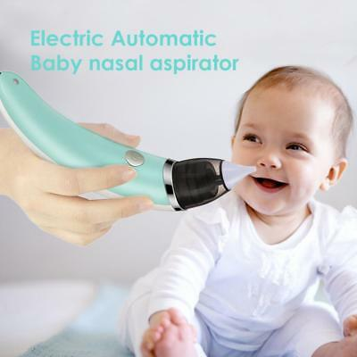 Baby Nasal Aspirator Electric Safe Hygienic Nose Cleaner Oral Snot Sucker