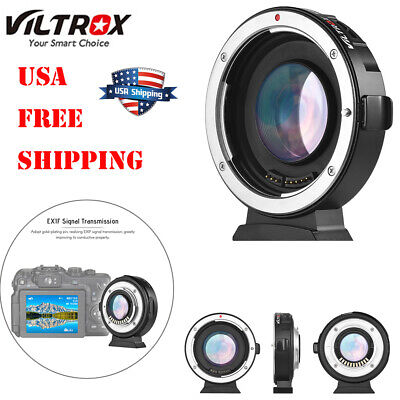 Viltrox EF-M2 Auto Focus Lens Mount Adapter 0.71X for Canon EF MFT M 4/3 F6P5