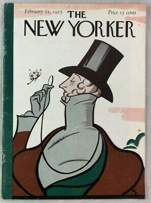 1st Issue Reprint 1953 / The New Yorker Magazine February 21 1925
