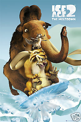Poster ICE AGE 2 - Fossil   ca60x90cm   NEU (56031)