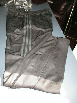 New Adidas Climacool Youth Track Soccer Sweat Pants Black Large 16-18