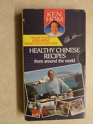 'Ken Hom - Healthy Chinese Recipes from Around the World' VHS Video
