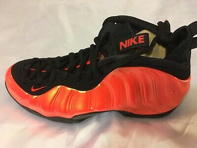 best sneakers c6fec a0680 NIKE AIR FOAMPOSITE One Habanero Red 314996-603 Size 9.5