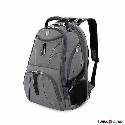 SwissGear Travel Gear 1900 Scansmart TSA Laptop Business & Backpack GREY (2)