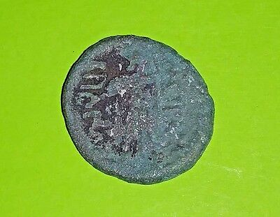 Mesembria Thrace 200 BC authentic ancient GREEK COIN Athena shield good patina