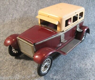 VERY RARE GES GESCH TIN TOY CAR, INKWELL?,GERMANY, HARD TO FIND, 20's, MUST SEE!