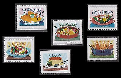 US 5192-5197 Delicioso forever set (6 stamps) MNH 2017
