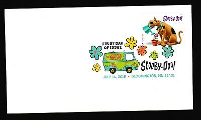 US 5299 Scooby-Doo DCP FDC 2018