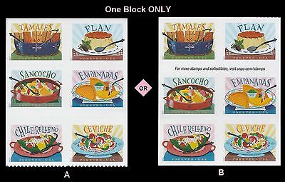 US 5197a Delicioso forever block set (6 stamps) MNH 2017