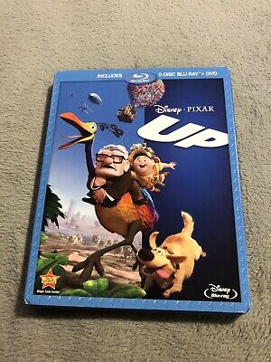 Up (Blu-ray/DVD, 2011, 3-Disc Set) Disney Movie Pixar