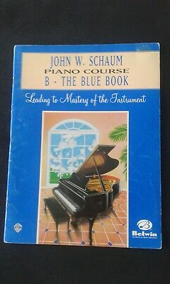 John W. Schaum Piano Course B: The Blue Book (1996)