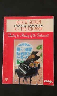 John W. Schaum Piano Course A :The Red Book  (1996)
