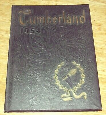 1954 Yearbook Shippensburg State Teachers College Shippensburg PA The Cumberland