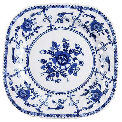 Johnson Brothers INDIES BLUE Square Salad Plate 10467431