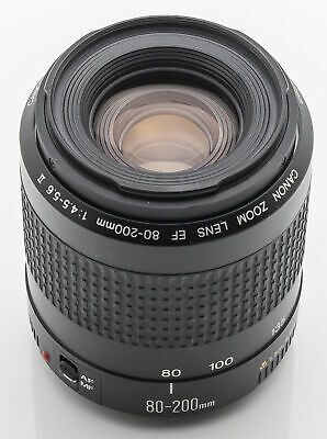 Canon Zoom Lens EF 80-200mm  80-200 mm 1:4.5-5.6 II - Canon digital