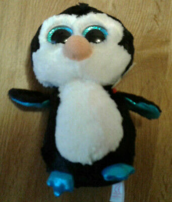 TY Beanie Boos - MWMT/'s Boo Toy WADDLES the Penguin Key Clip - 3 inch