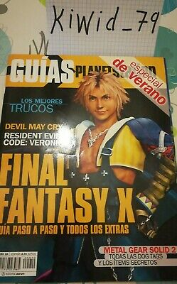 Guía Final Fantasy X + Devil May Cry + Resident Evil Code Veronica X....