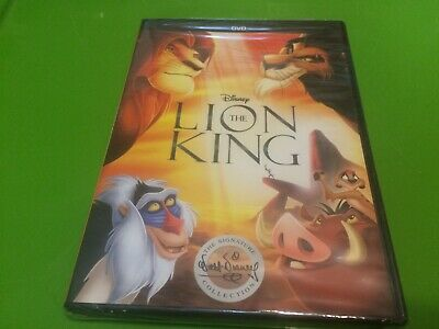 NEW, SEALED Disney The Lion King DVD 2017 The Signature Collection FREE S/H !!