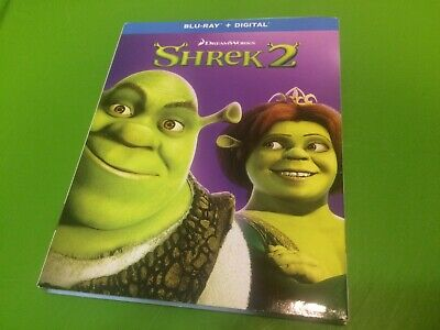Shrek  2    *Brand New*  w/Slip Cover & Digital Copy  (Blu-Ray Disc 2018)