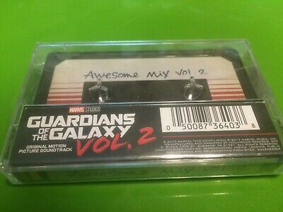 B8 Guardians Of The Galaxy: Awesome Mix Vol 2 MOVIE SOUNDTRACK New Cassette Tape